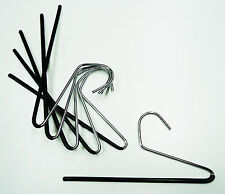 100 Slacks, Pants, Skirt metal hangers slide organizers.