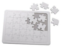 A4 Blank Jigsaw Puzzle 30 Piece Make Your Own Childrens Craft Colour Paint 7077
