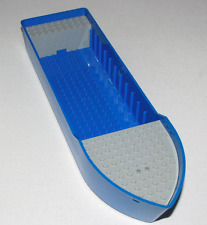 LEGO BLUE Boat Hull Unitary 38 x 10 x 5 2/3 FREIGHTER SHIP PIECE