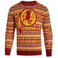 Forever Collectibles NFL Men's Washington Redskins Aztec Print Ugly Sweater