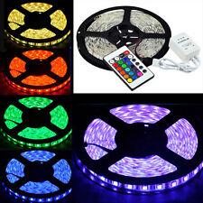 Boat Accent Light Waterproof LED Lighting Strip 16 ft /5M RGB + 24KEY IR Remote