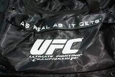 Authentic UFC Large Black Duffel Bag - Brand New & Unused