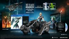 Final Fantasy VII 7 remake 1st class Collectors Edition limitado banda clave