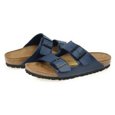 BIRKENSTOCK Arizona Slide Slip On Beach Sandals Flip Flop Navy 051751 SZ 5-12