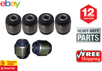 New Falcon BA BF FG Territory Rear Upper & Lower Control Arm Swivel Bush Kit