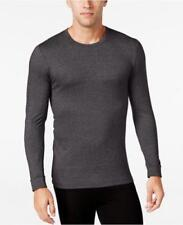 NWT 32 Degree Heat Men's long sleeve crew neck tee...charcoal gray..small