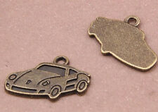 10pc Retro Bronze(Car pendant)Bead Charms Accessories wholesale PJ2703