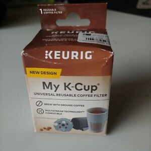 Keurig MY K-CUP UNIVERSAL REUSABLE COFFEE FILTER Gray T8