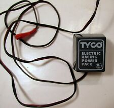 TYCO Electric Racing Power Pack Plug In Hobby Transformer Model 610C Gray