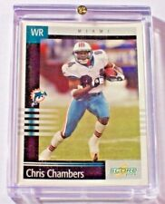 2004 Orange County Collection 2003 Score Chris Chambers 1/1 Dolphins Chargers