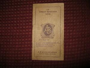 A - B Stove Co. sales pamphlet Battle Creek MI