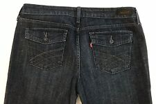 Levi's Women's Denim Dark Wash Low Boot Cut 545 Jeans Size 14