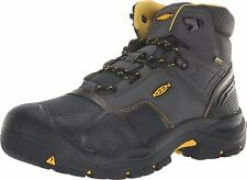 Mens Keen Logandale Waterproof Industrial Boots Soft Toe Work Boots NEW