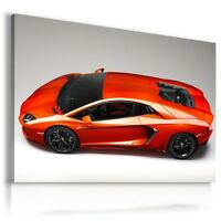 LAMBORGHINI AVENTADOR Super Sport Car Large Wall Art Canvas Picture  AU156
