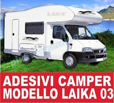 KIT ADESIVI CAMPER LAIKA 03 STICKERS TUNING
