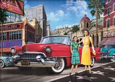 Jigsaw puzzle Car Walk of Fame 1000 piece NEW