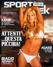Sport Week-'07-TORRIE WILSON,Oliver Kahn,Biagio Antonacci,Vasco Vascotto,Agassi