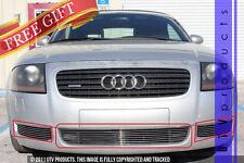 GTG 2000 - 2006 Audi TT and TT Quattro 3PC Polished Overlay Billet Grille Kit