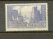 "FRANCE STAMP TIMBRE N° 261b "" PORT DE LA ROCHELLE 10F TYPE I "" NEUF xx TTB"