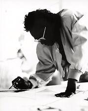 Herman LEONARD: Miles Davis, Malibu, 1989 / Silver Print / Ptd 2004 / SIGNED