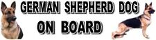 GERMAN SHEPHERD DOG ON BOARD Car Sticker By Starprint