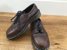 Dr. Doc Martens Brown Leather Women's Casual Shoes Size UK size 4 ** US size 6