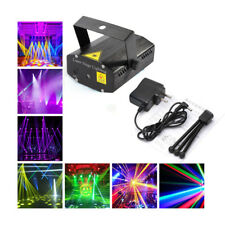 Mini Laser Projector Stage Lights LED R&G Lighting Xmas Party DJ Disco Club KTV