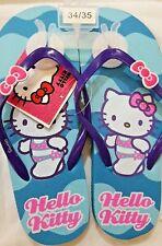 Infradito Hello Kitty Azzurro - Sanrio - numero 34/35 - Nuovi