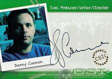 CSI SEASON 1 2003 STRICTLY INK AUTOGRAPH CASE TOPPER CARD DANNY CANNON CSI-A20 A