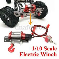 1 Set Mini Metal Steel Wired Racing 1/10 Scale Electric Winch For RC Crawlers