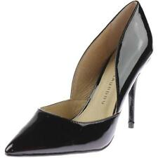 Chinese Laundry Womens Patent Closed Toe Classic Pumps Black Suede Size 6.0 3f