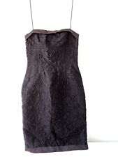 0fc3cb44536 New w o tags BOSS Hugo Boss Essential Black Cocktail Night Dress Party
