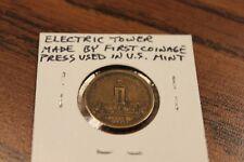 1901 PAN-AMERICAN EXPOSITION, BUFFALO NY ELECTRIC TOWER RARE TOKEN