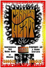 Canned Heat 1969 Concert Poster original*