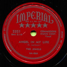 THE JEWELS (Angel In My Life / Hearts Can Be Broken) R&B/SOUL 78  RPM  RECORD
