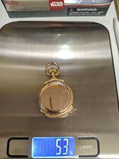 18K Solid Gold Agassiz Geneva Pocket Watch