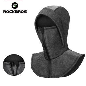 ROCKBROS Winter Cycling Hat Fleece Thermal Face Mask Headgear Winproof