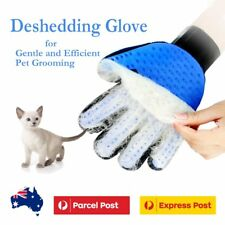 Home Magic Deshedding Brush Glove for Gentle and Efficient Pet Grooming Dog Cat