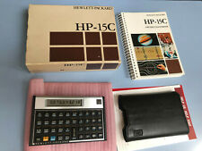 Vintage Collectible  HP 15C Scientific Calculator, *** Made in USA*** MINT