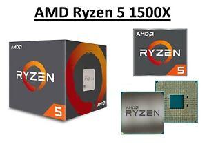 AMD Ryzen 5 1500X Quad Core Processor 3.5GHz, Socket AM4, Processeur 65 W