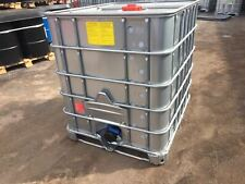 More details for ibc tanks 1000l(galvanised bottom plate-steel case) water