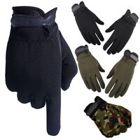 Outdoor Sports Hiking Bicycle Bike Cycling Anti-Slip Gloves Men Women Mittens