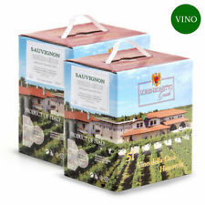 Confezione 2 Bag in Box Sauvignon Igt Venezia Giulia 5 litri – Lorenzonetto F...