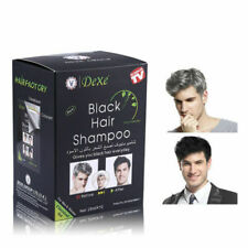 10Pcs/Box Dexe Permanent Black Hair Dye Hair Coloring Shampoo👍👍👍Hot Selling