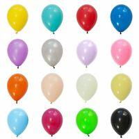 "30pcs, Plain LATEX BALLOONS, 10"", Helium. Party, Birthday, Wedding, Christening"