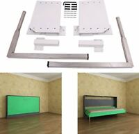 Economy do it yourself murphy bed hardware kit ebay diy murphy wall bed springs mechanism hardware kit queen size horizontal side solutioingenieria Choice Image