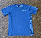 Jordan Jumpman T-shirt Youth Air Jordan Blue w Digital Camo XL (13-15 Yrs) Soft