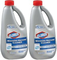Clorox Washing Machine Cleaner 2 Bottle Pack