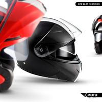 MOTO F19 + MODULAR-HELM + FLIP-UP + FULLFACE KLAPPHELM MOTORRAD-HELM XS S M L XL