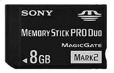 New Memory Stick MS-MA8GB MS PRO-HG Duo HX Mark2 8GB Card For SONY PSP Camera